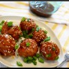 Sweet & Spicy Korean Inspired Meatballs (high protein)